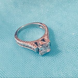 Jewelry - New Engagement Ring 925 Silver 2.5 Carat Zirconium